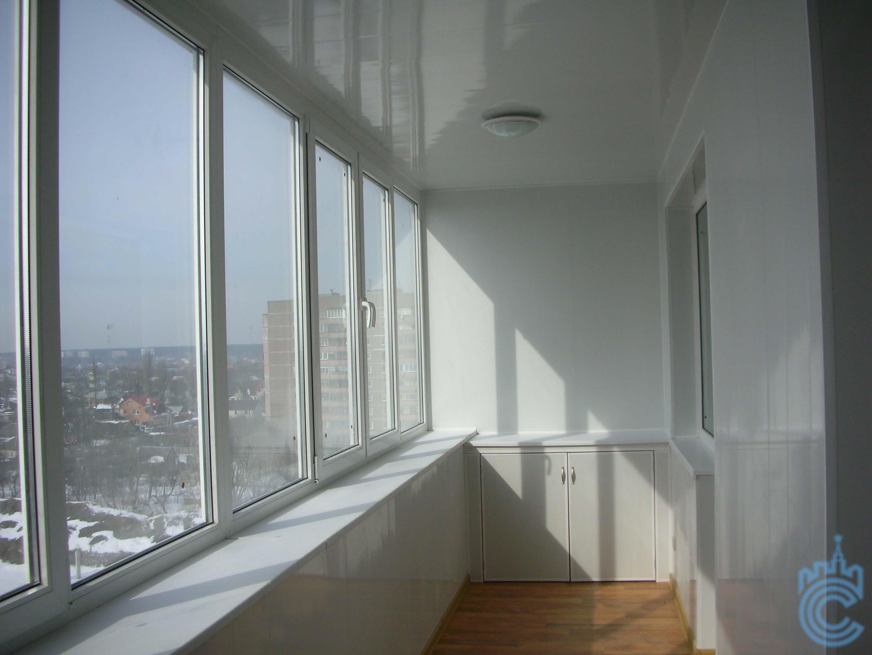 Цены на остекление балконов - стоимость остекления лоджии по.